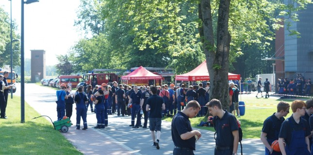 05.06.2016: Jugendflammenabnahme Stufe 2 und 3 in Gescher