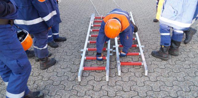 23.02.2019: Jugendfeuerwehr übt Eisrettung