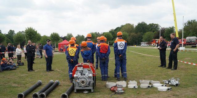 27.05.2019: Jugendfeuerwehr erfolgreich beim Kreisleistungsnachweis in Heiden