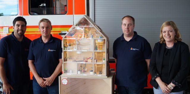 04.07.2019: Anschaffung Rauchhaus ermöglicht